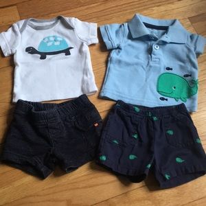 Two Newborn Outfits